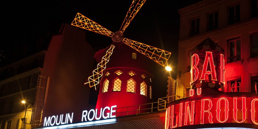 Moulin Rouge:  the place, the movie the musical!