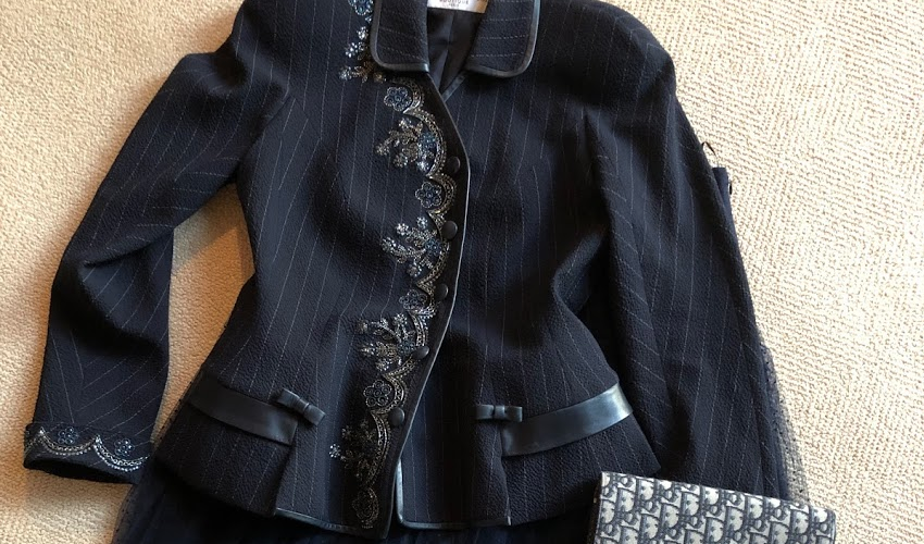 A Jacket to Dream about, the Dior Bar Suit